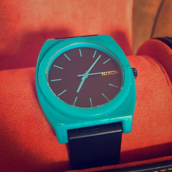 Nixon Other - Nixon Watch Teal Minimal The Time Teller P